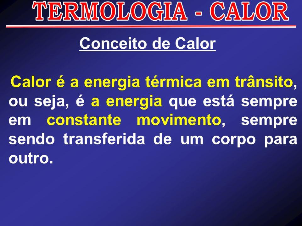 TERMOLOGIA - CALORConceito de Calor.