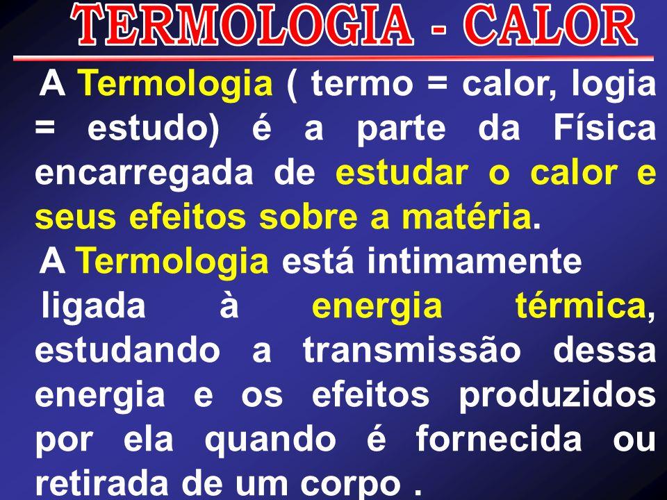 A Termologia está intimamente