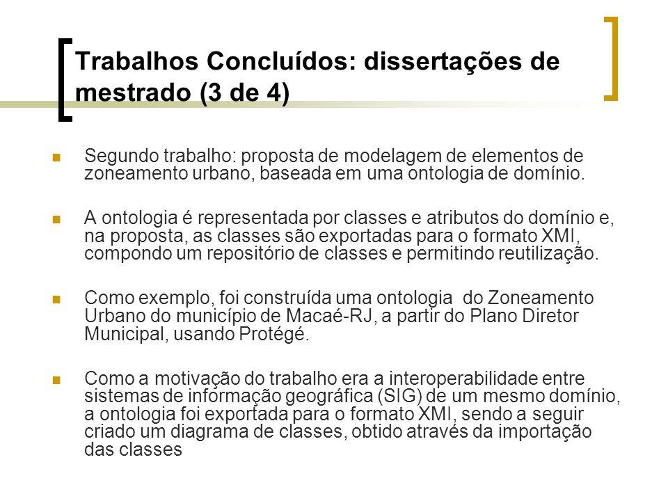 Trabalhos Concluídos: dissertações de mestrado (3 de 4)