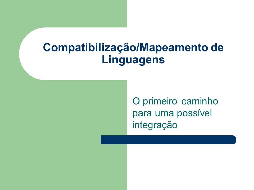 Compatibilização/Mapeamento de Linguagens