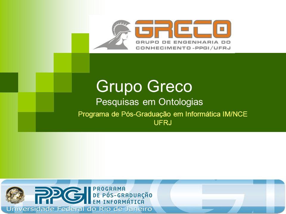 Grupo Greco Pesquisas em Ontologias