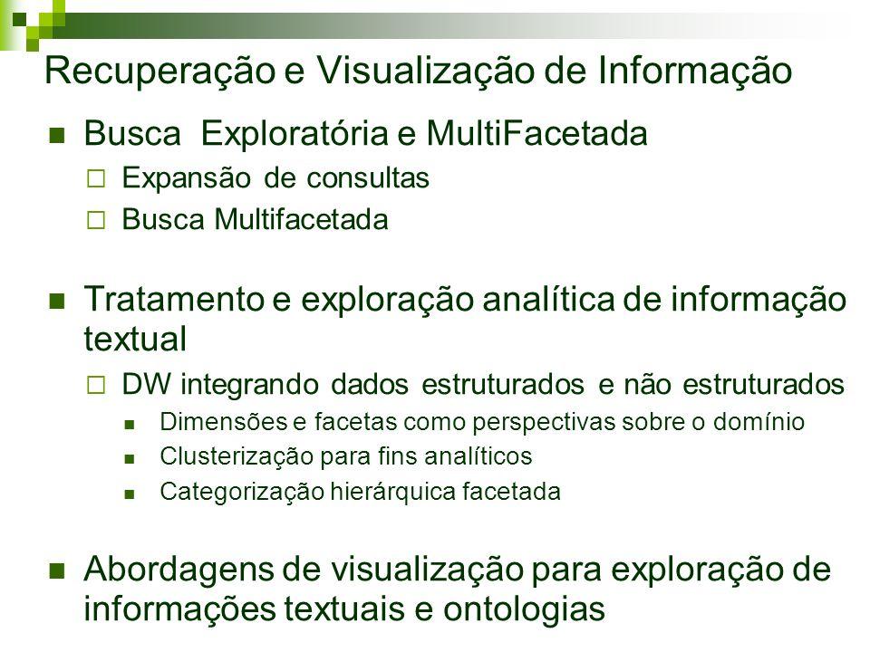 Recuperação e Visualização de Informação