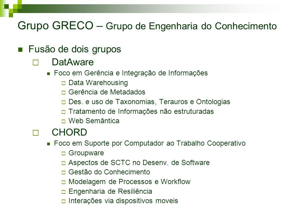 Grupo GRECO – Grupo de Engenharia do Conhecimento