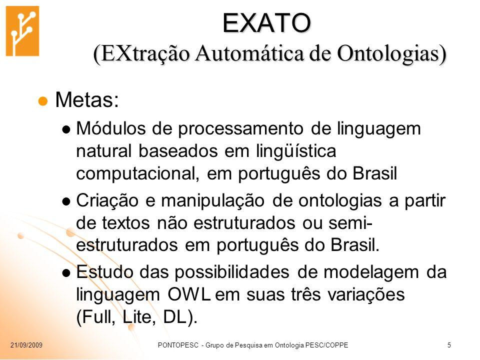EXATO (EXtração Automática de Ontologias)