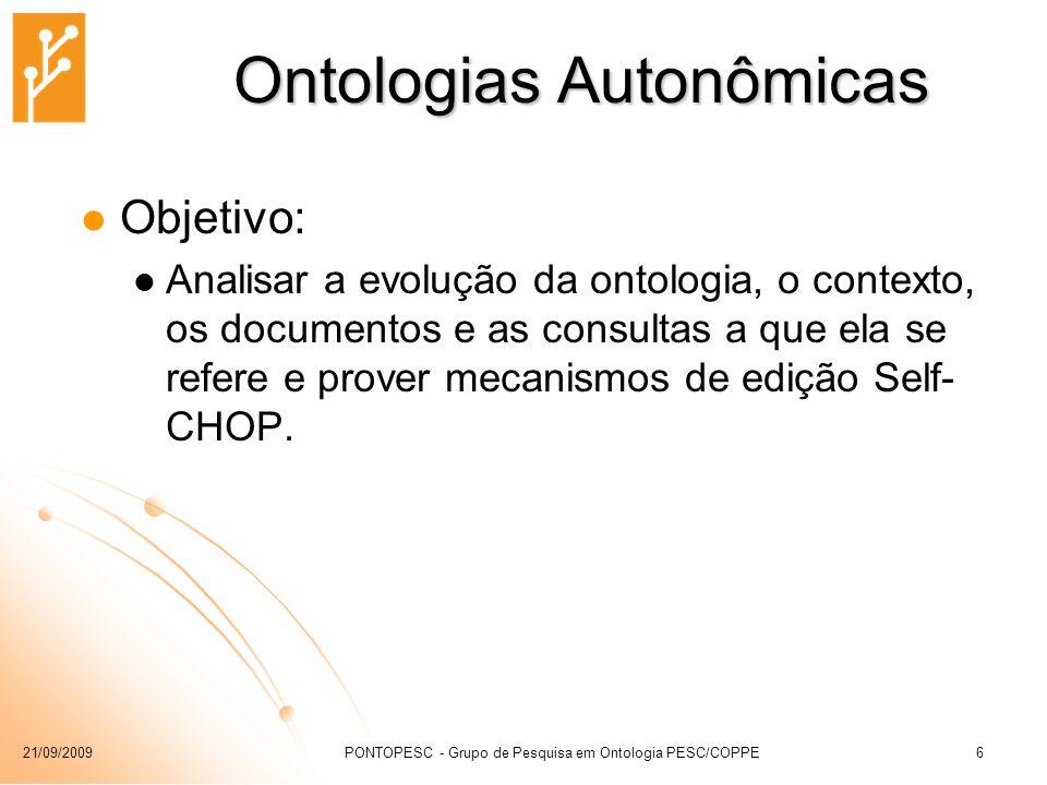 Ontologias Autonômicas