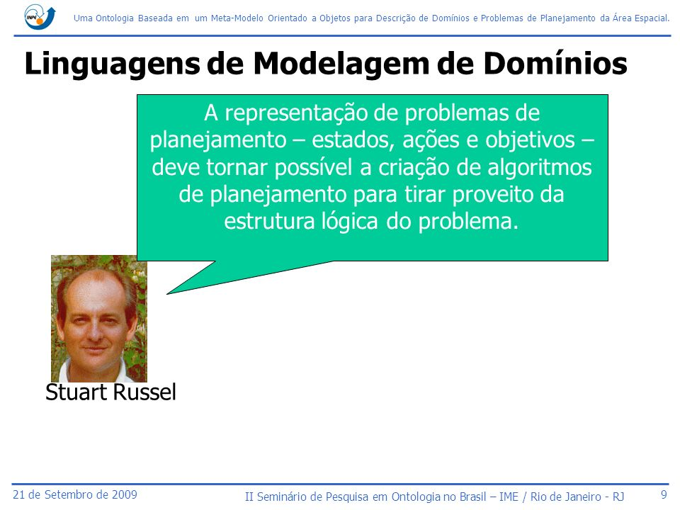Linguagens de Modelagem de Domínios