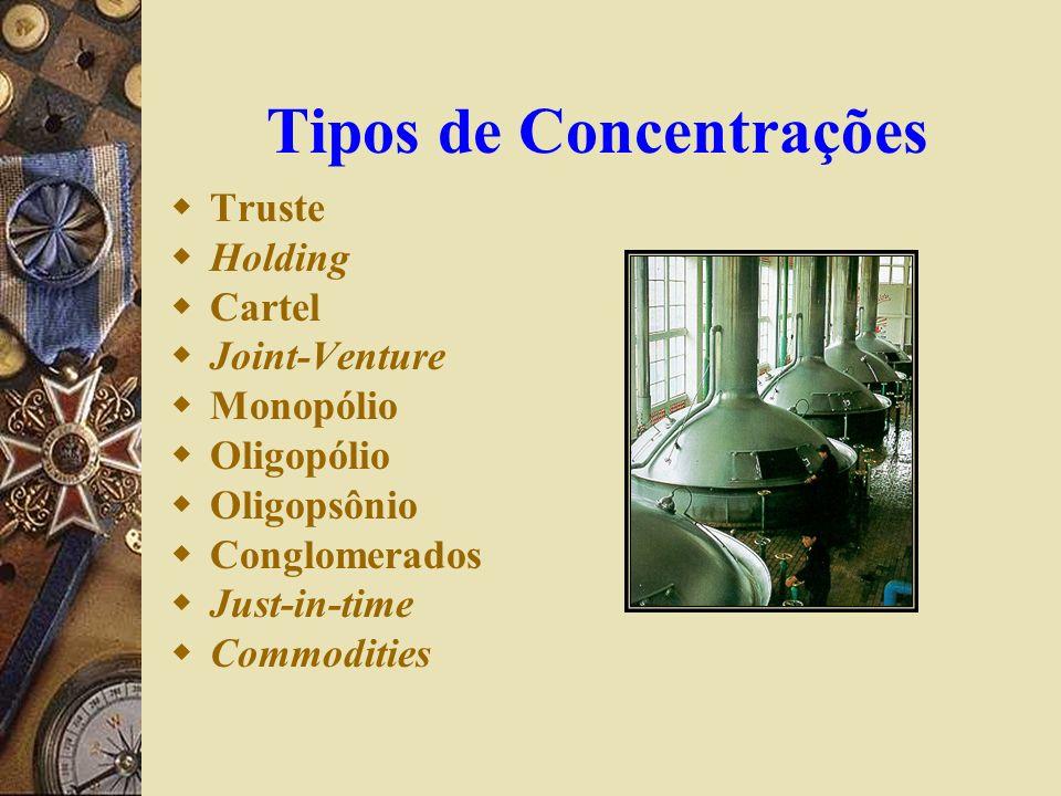 Tipos de Concentrações