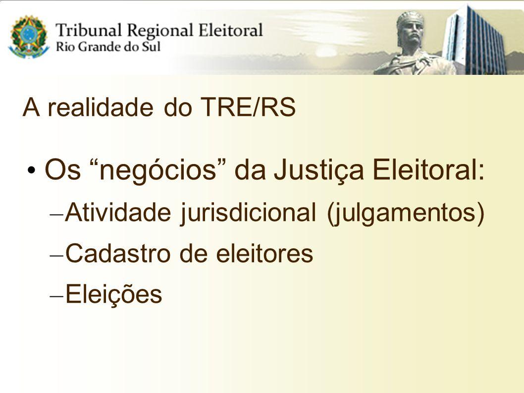 Os negócios da Justiça Eleitoral: