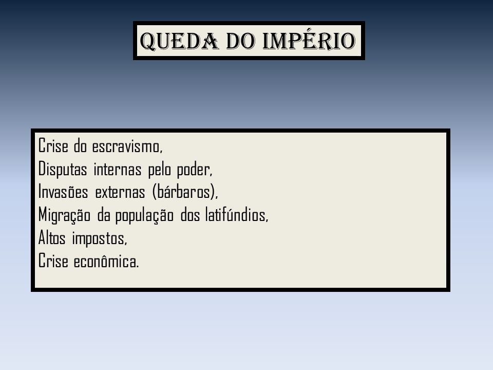 Queda do Império Crise do escravismo, Disputas internas pelo poder,