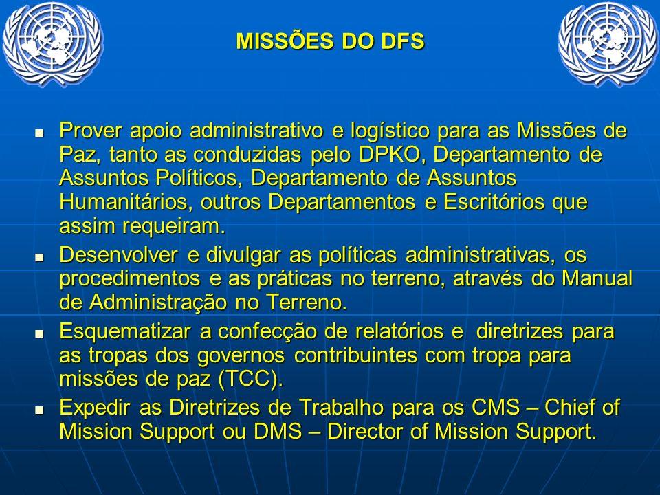 MISSÕES DO DFS