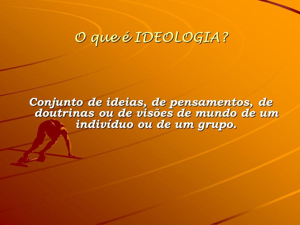O que é IDEOLOGIA.