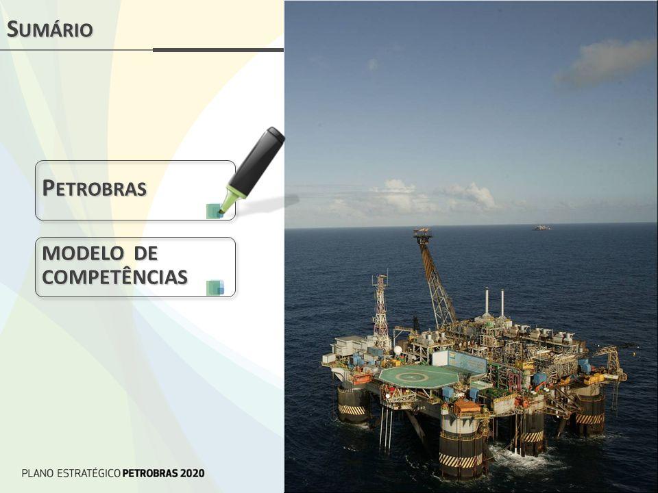 Sumário Petrobras MODELO DE COMPETÊNCIAS