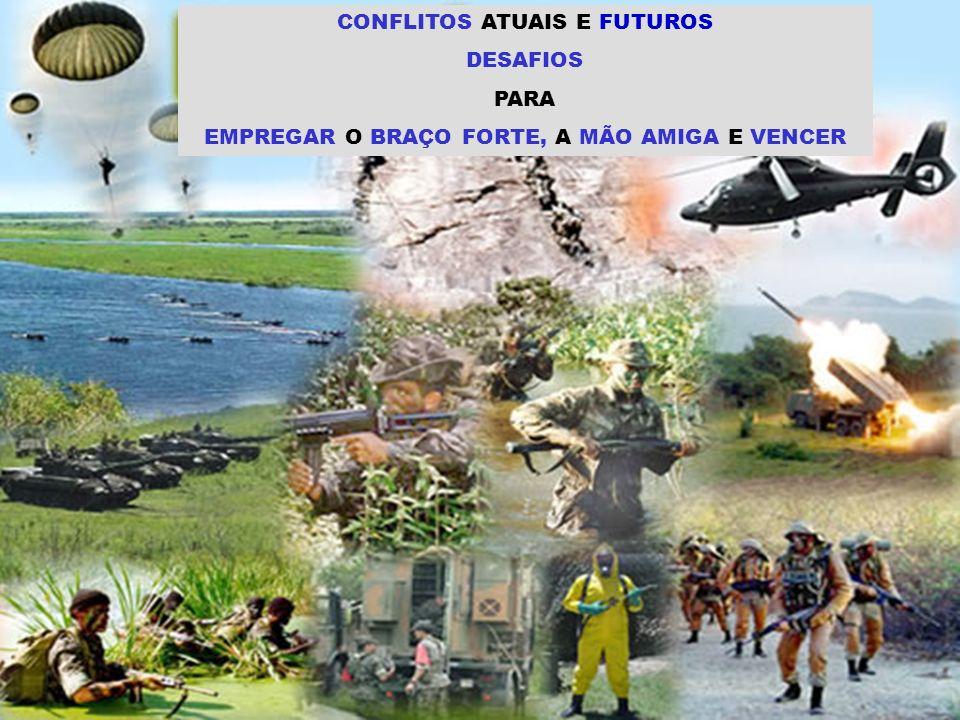 CONFLITOS ATUAIS E FUTUROS DESAFIOS PARA