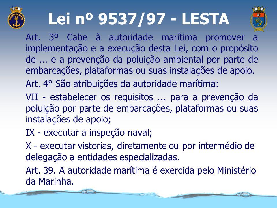 Lei nº 9537/97 - LESTA