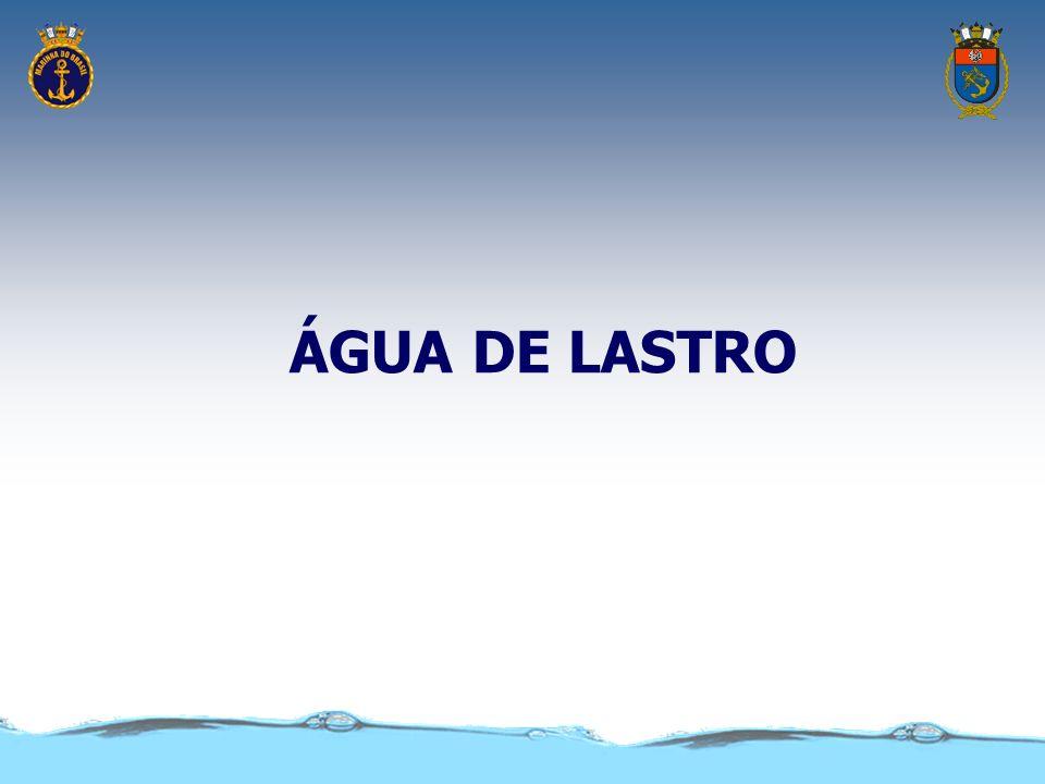 ÁGUA DE LASTRO