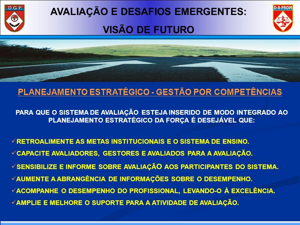 AVALIAÇÃO E DESAFIOS EMERGENTES: VISÃO DE FUTURO