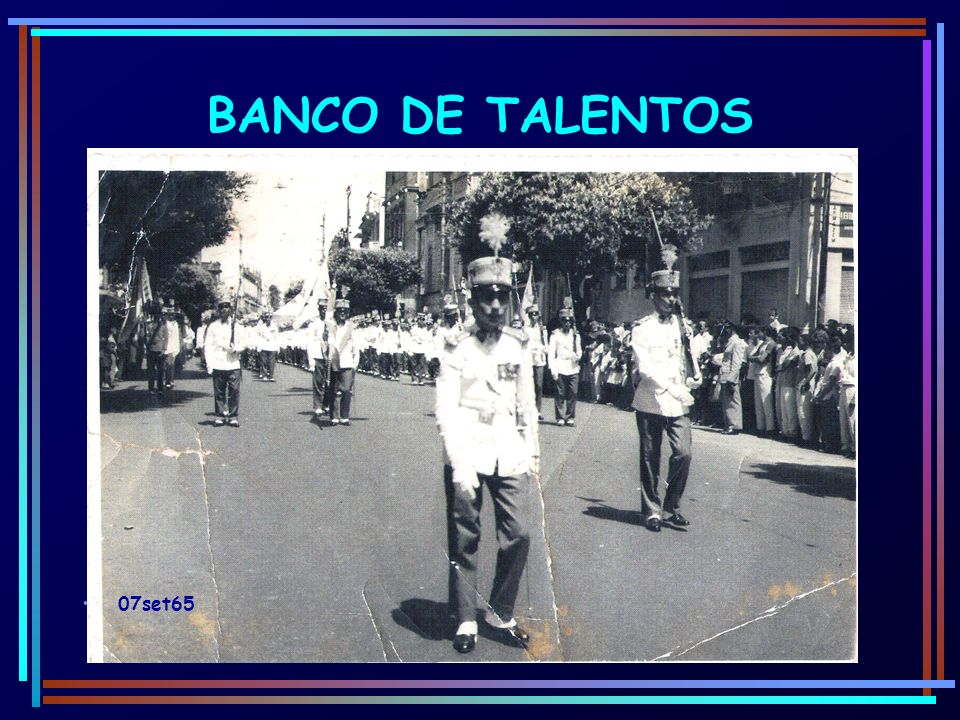 BANCO DE TALENTOS 07set65