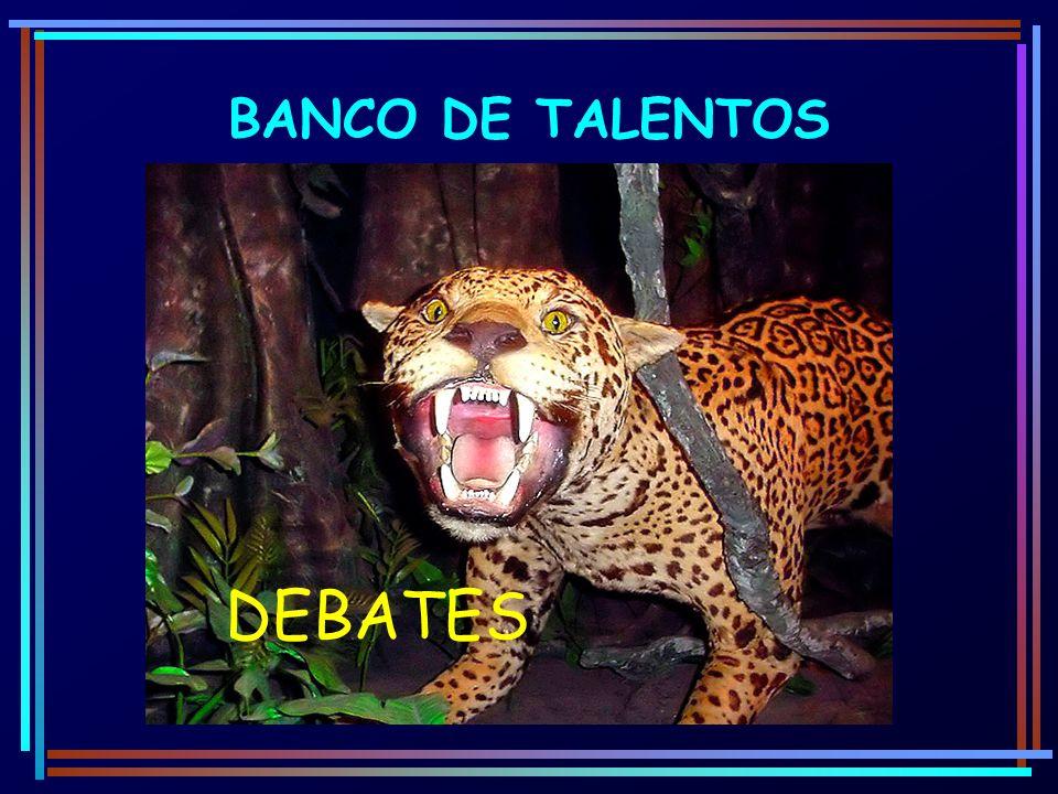 BANCO DE TALENTOS DEBATES