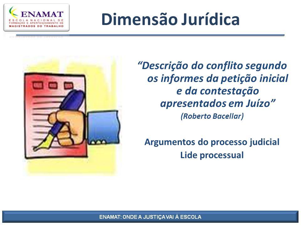 Argumentos do processo judicial