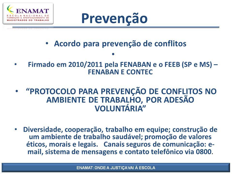 Acordo para prevenção de conflitos