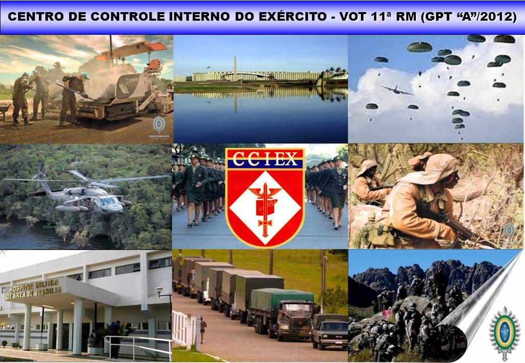 CENTRO DE CONTROLE INTERNO DO EXÉRCITO - VOT 11ª RM (GPT A /2012)