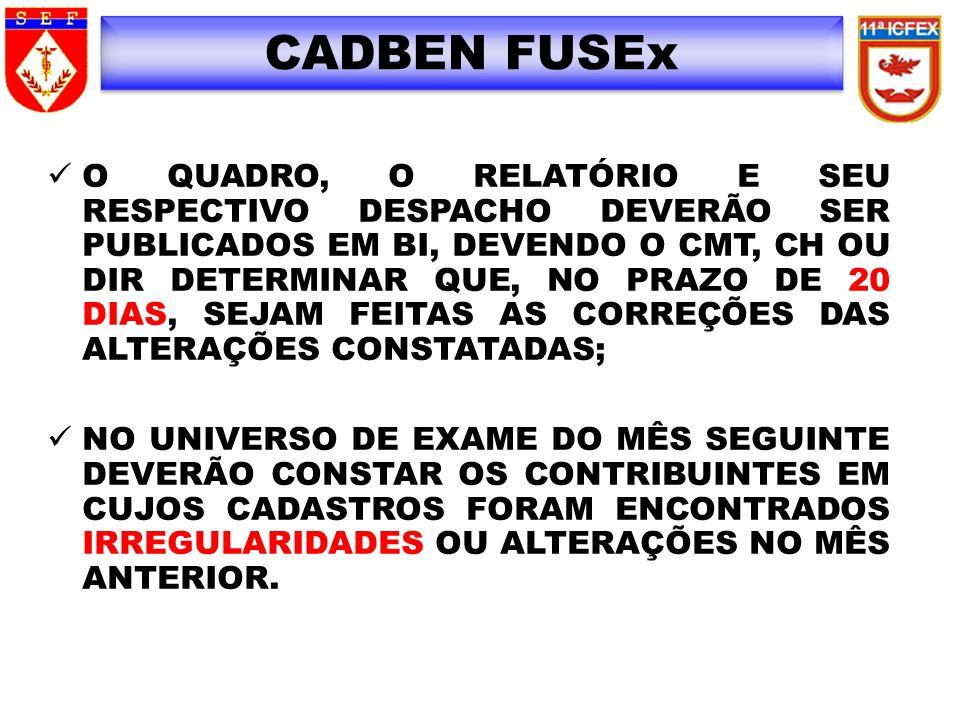 CADBEN FUSEx