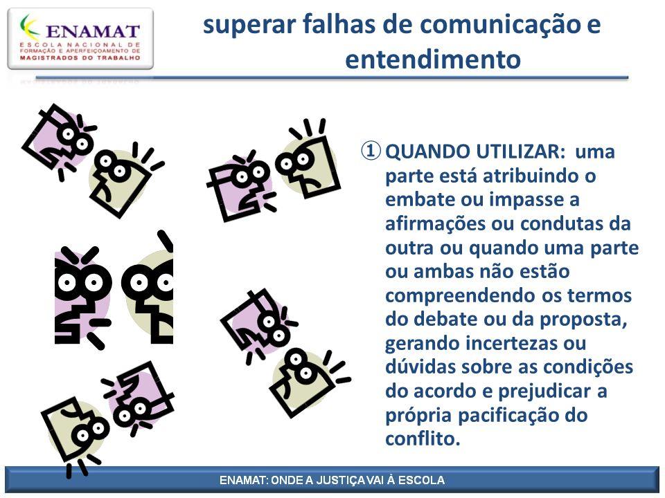 superar falhas de comunicação e entendimento
