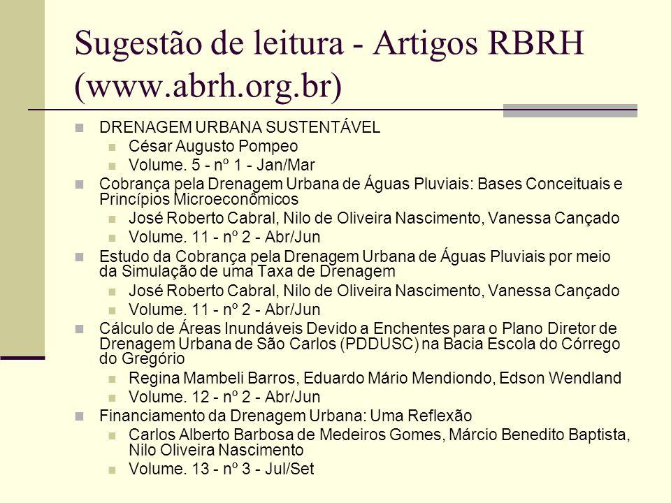 Sugestão de leitura - Artigos RBRH (www.abrh.org.br)