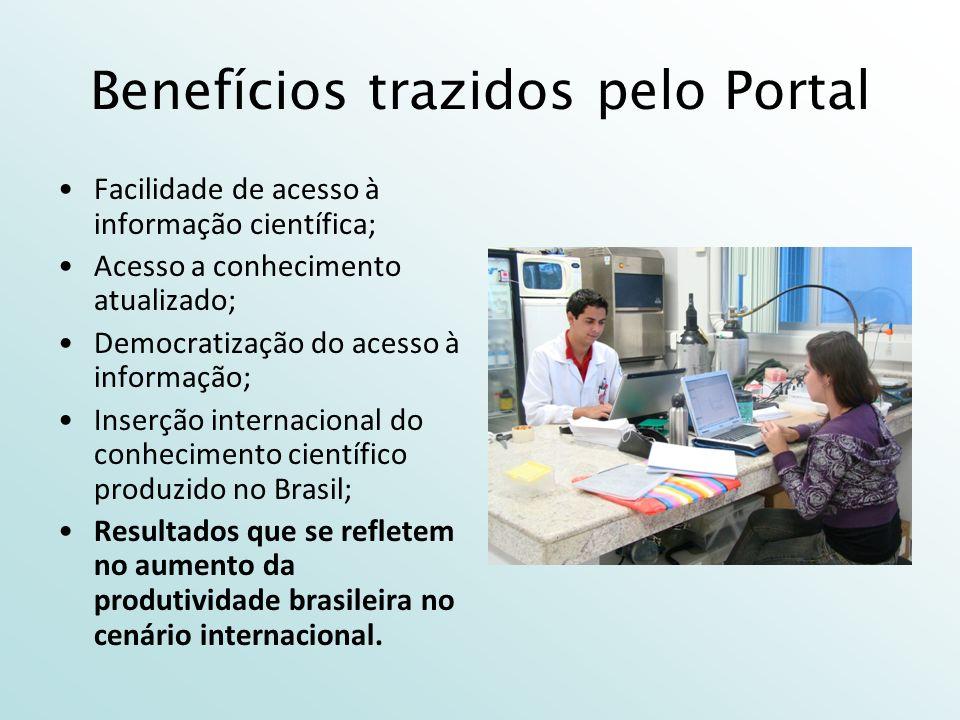 Benefícios trazidos pelo Portal