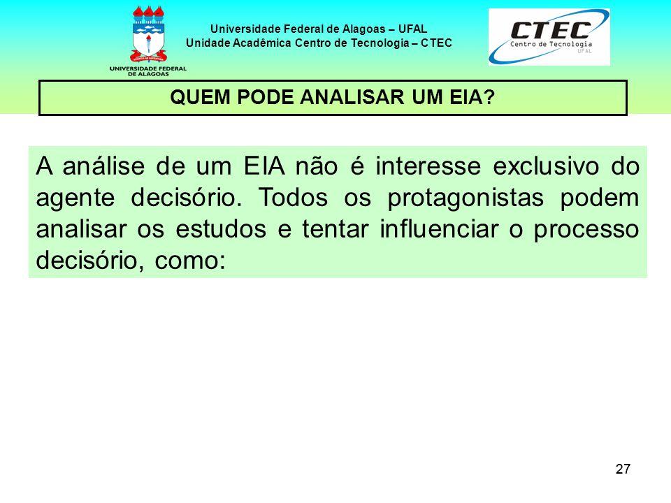 Universidade Federal de Alagoas – UFAL