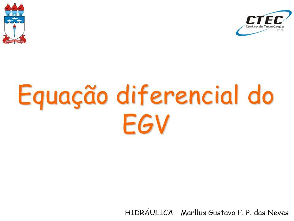 Equação diferencial do EGV