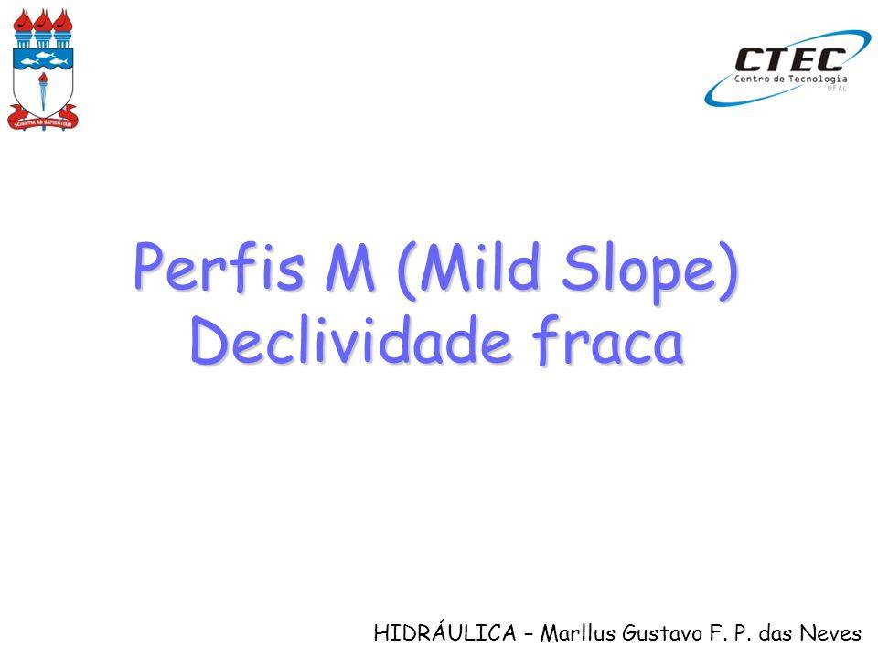 Perfis M (Mild Slope) Declividade fraca