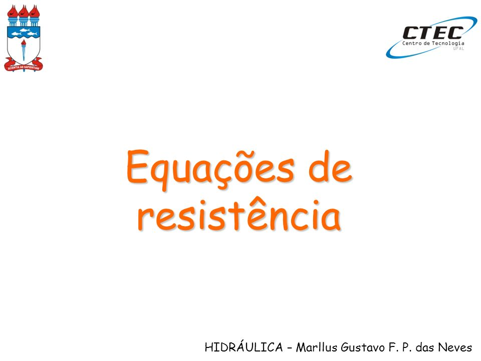 Equações de resistência
