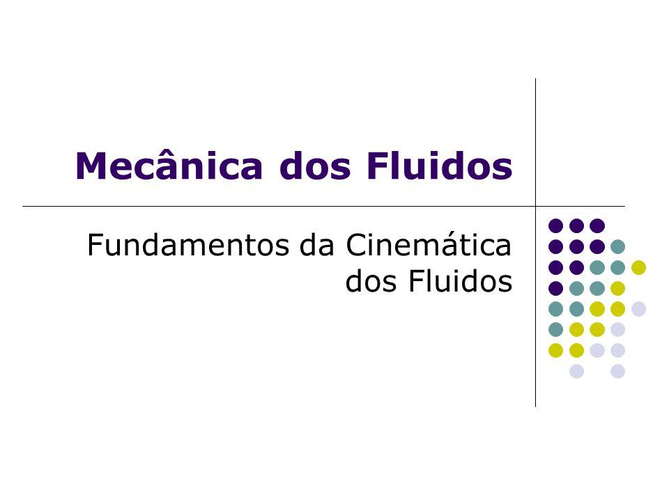 Fundamentos da Cinemática dos Fluidos