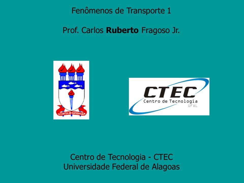 Fenômenos de Transporte 1 Prof. Carlos Ruberto Fragoso Jr.