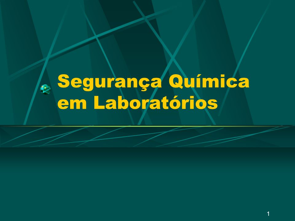 Segurança Química em Laboratórios