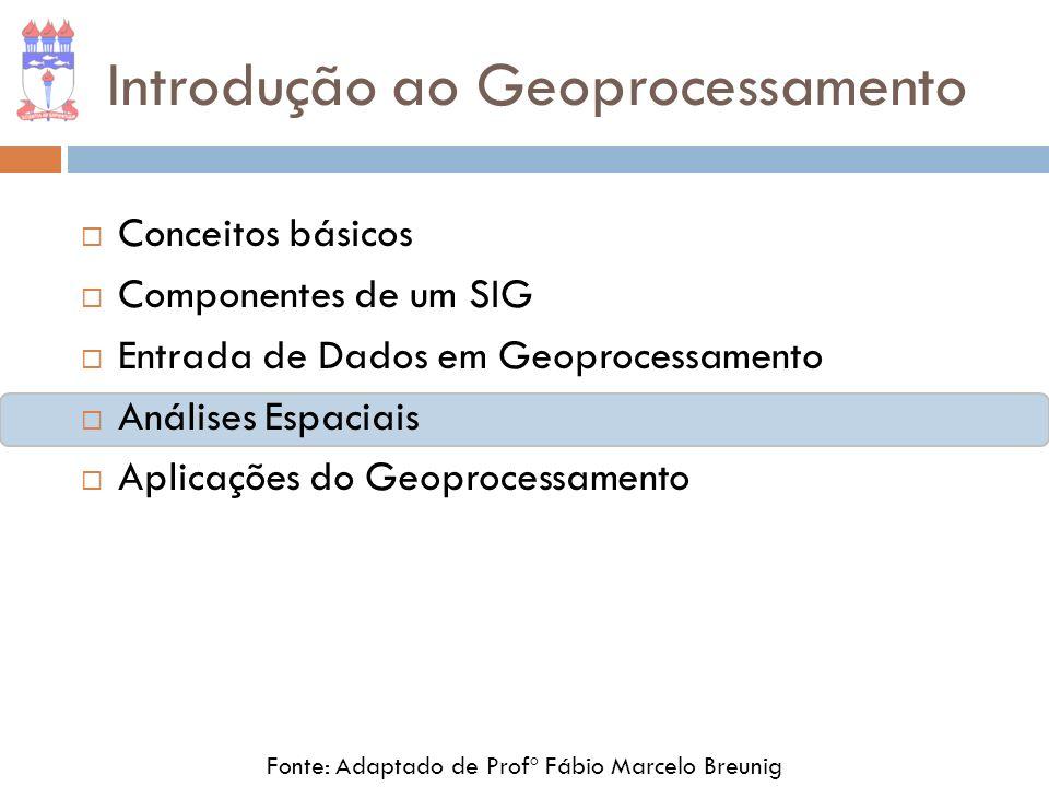 Introdução ao Geoprocessamento