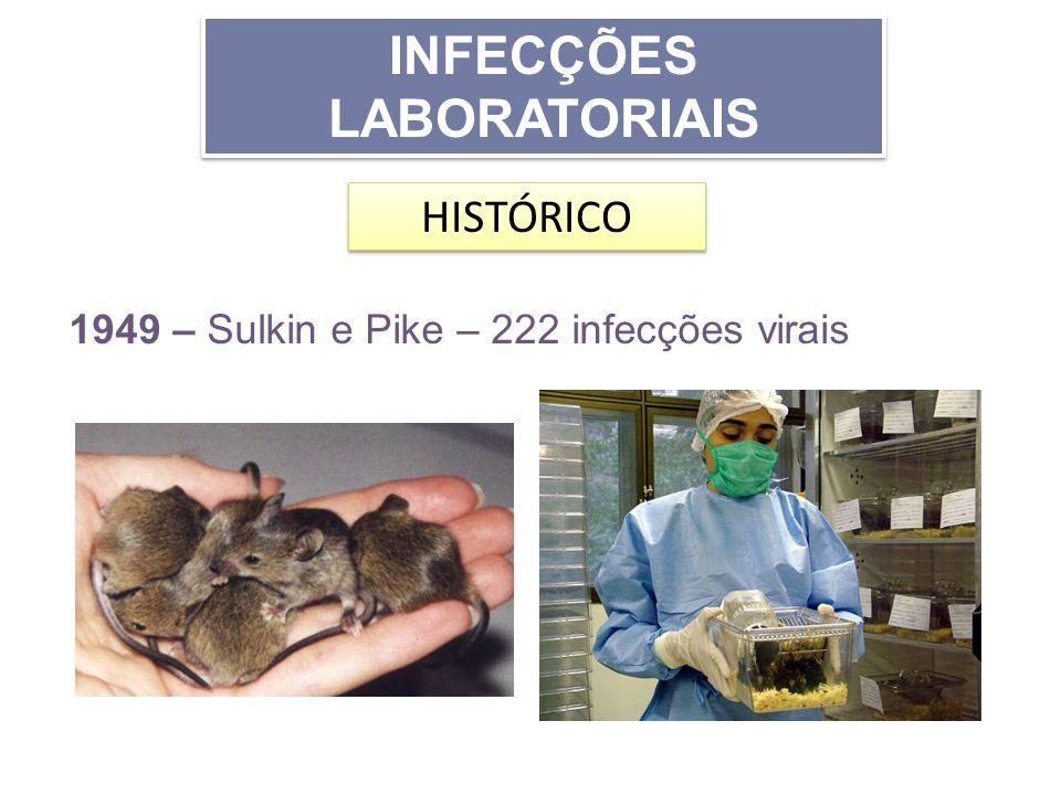 INFECÇÕES LABORATORIAIS