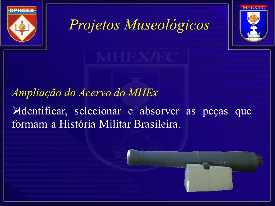 Projetos Museológicos