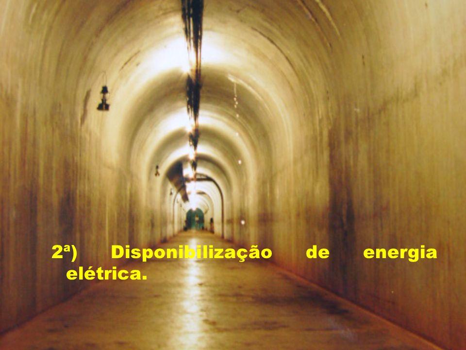 2ª) Disponibilização de energia elétrica.