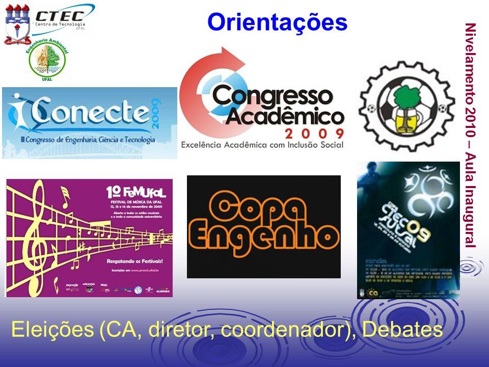 Orientações Eleições (CA, diretor, coordenador), Debates