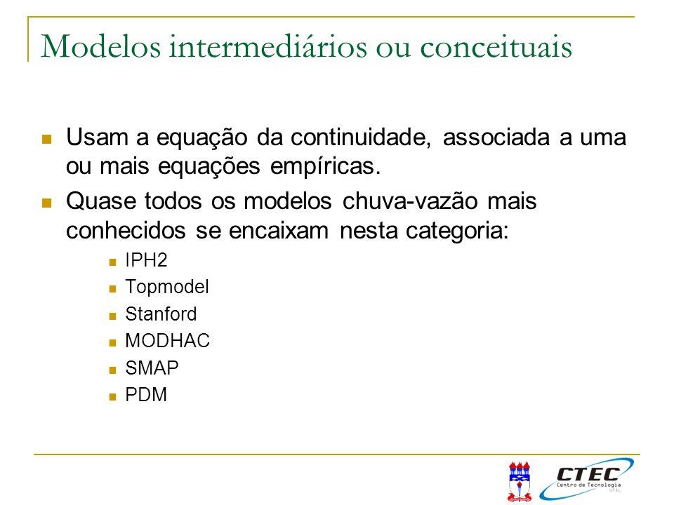 Modelos intermediários ou conceituais