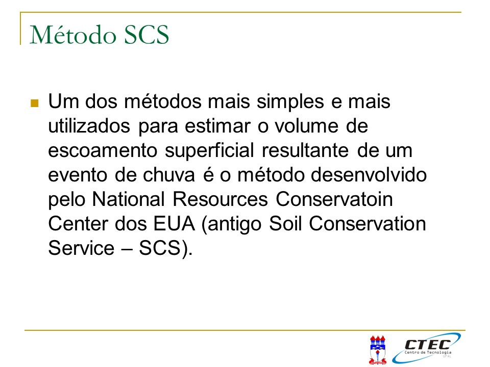 Método SCS