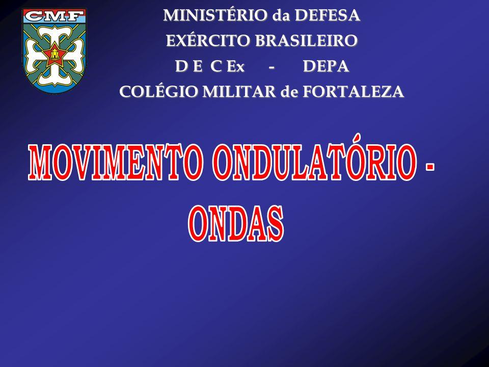 COLÉGIO MILITAR de FORTALEZA MOVIMENTO ONDULATÓRIO -