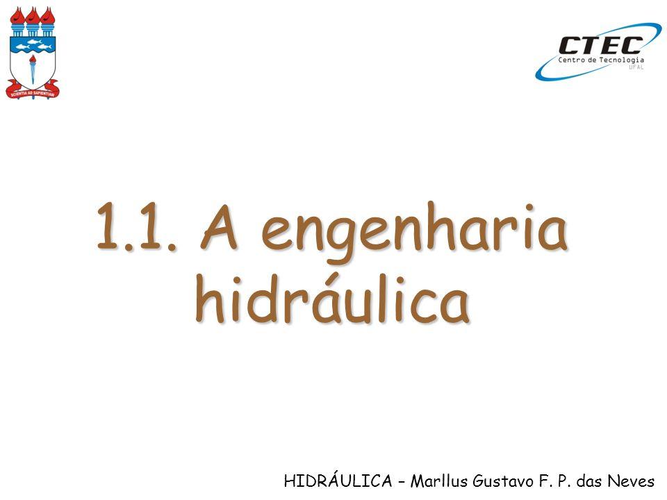 1.1. A engenharia hidráulica