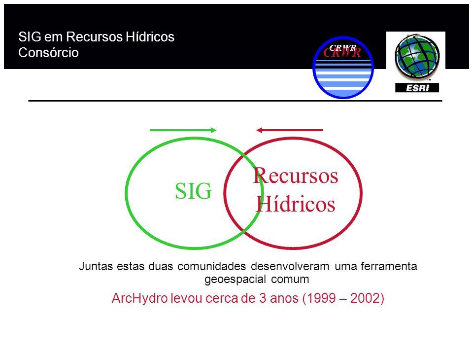 SIG em Recursos Hídricos Consórcio
