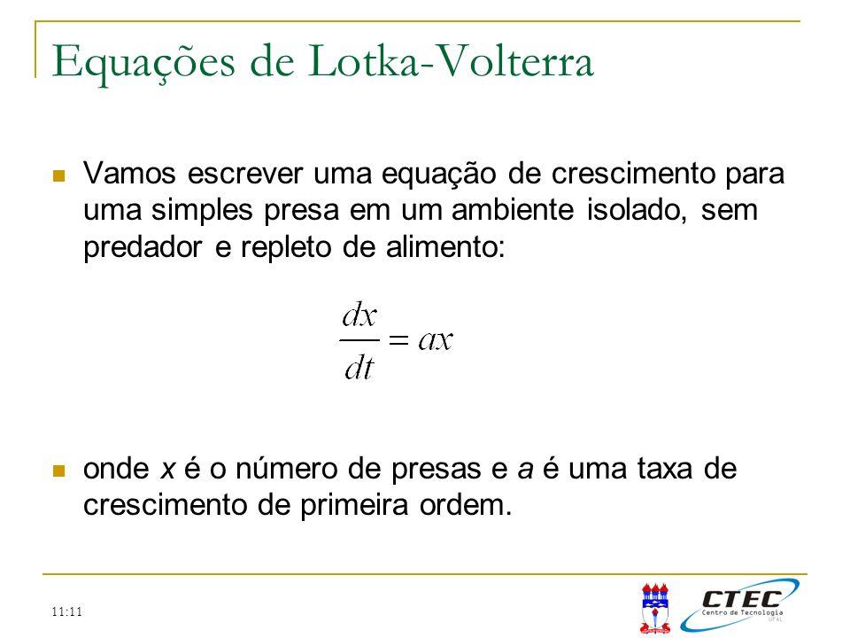 Equações de Lotka-Volterra