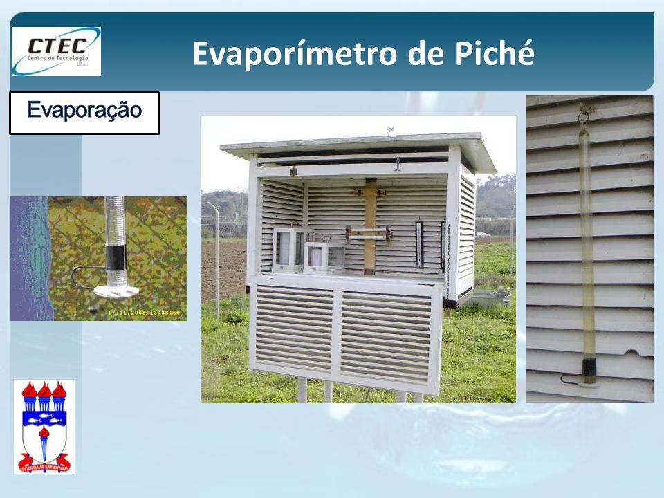 Evaporímetro de Piché Evaporação