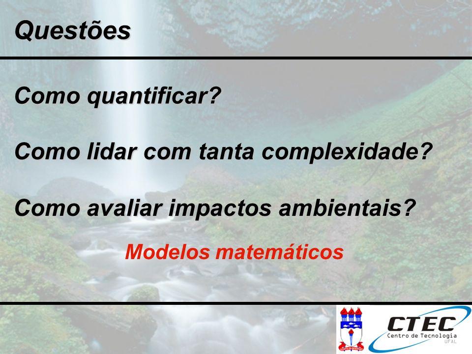 Questões Como quantificar