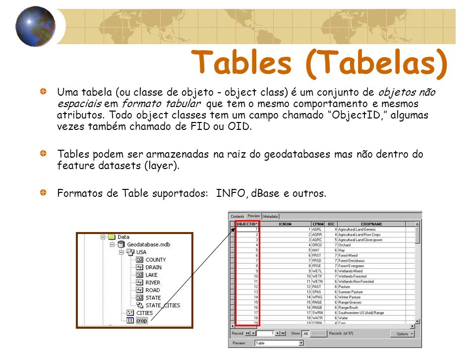 Tables (Tabelas)